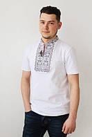 Вышиванка футболка мужская, Вишиванка чоловіча, трикотажна, р-р 48-58