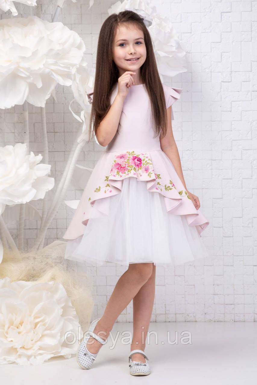 Платье нарядное детское София Размер 134