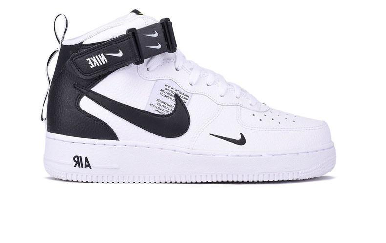 Nike Air Force 1 07 LV8 Utility черные (35 44)