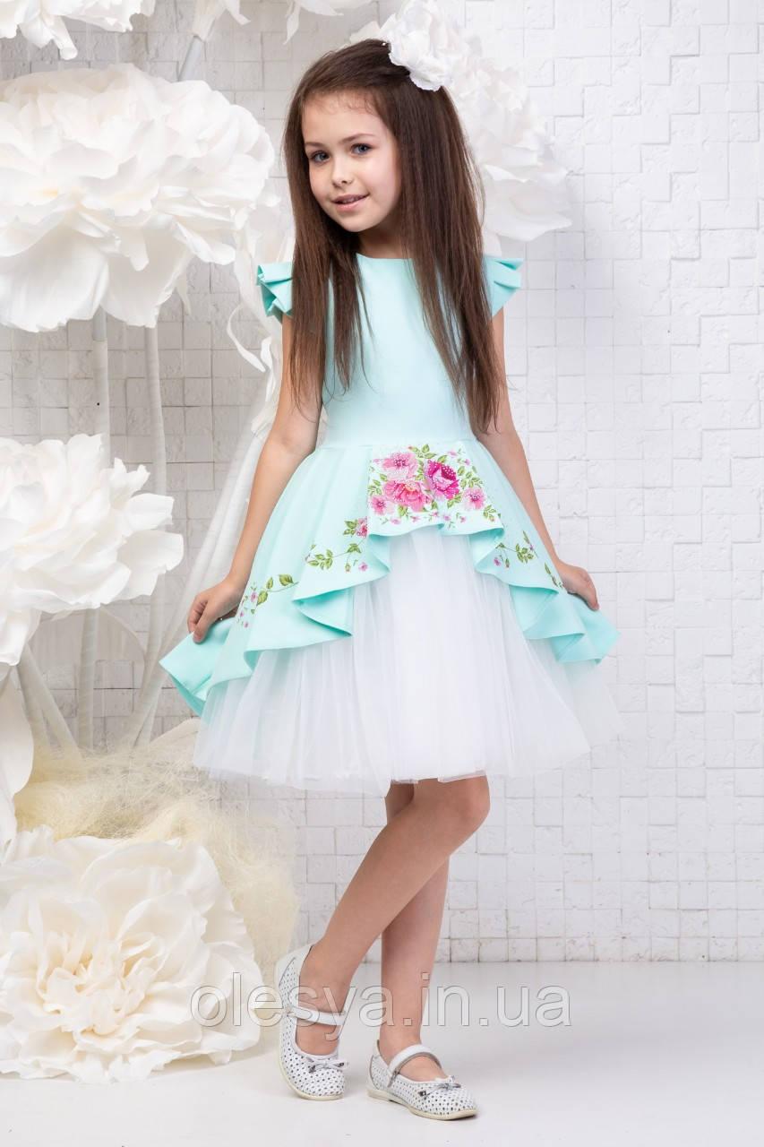 Платье нарядное детское София Размеры 116- 140 Хит продаж