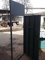 Тамбурная дверь с верхней фрамугой