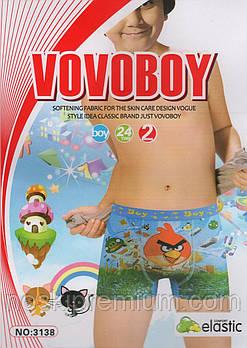 Дитячі боксери бавовна Vovoboy, 2-8 років, 3138