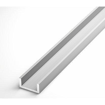 Швеллер алюминиевый Braz Line 8х8х1.0 мм анод серебро 1 м