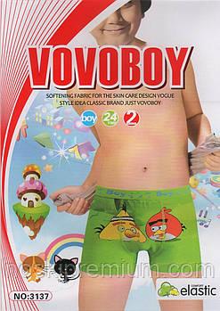 Дитячі боксери бавовна Vovoboy, 2-8 років, 3137