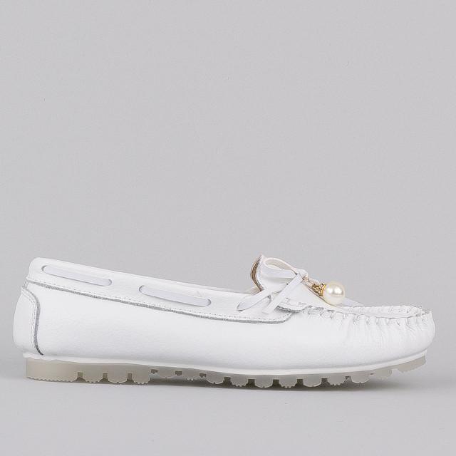 Мокасины Allshoes 3213 WHITE KOGA 36 23 см