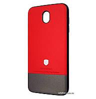 Чехол-накладка TOP-V для для Samsung Galaxy J7 (2017) SM-J730F Red