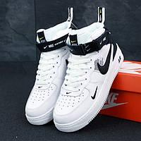 Nike Air Force 1 TM White Black (реплика)