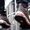 """Кроссовки Nike Air Max 97 """"Серые\Оранжевые"""", фото 4"""