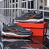 """Кроссовки Nike Air Max 97 """"Серые\Оранжевые"""", фото 3"""