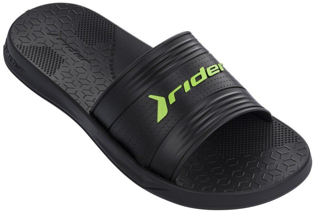 Оригинальные Шлепанцы Мужские Rider 82577-21675 LIBERTY Black/Green