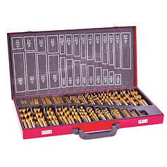 Набор сверл по металлу (HSS, 230 ед.) INTERTOOL SD-0309