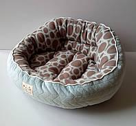Natural Style Лежак для кошек и собак, голубой леопард