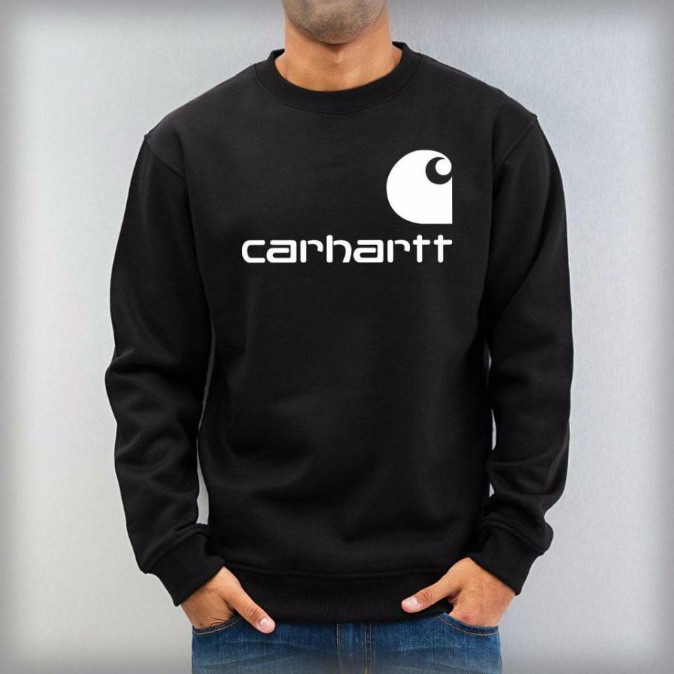 Мужской спортивный свитшот  CARHARTT, черная