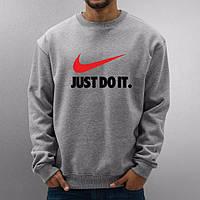 22ee57ea Купить. В корзину. Мужская спортивная кофта (спортивный свитшот) Nike  (Найк), серая