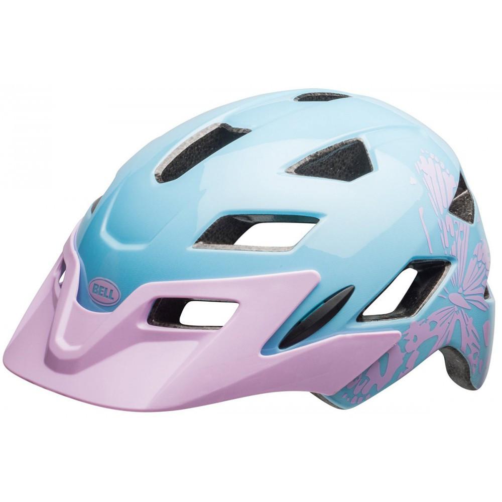 Велошлем подростковый Bell Sidetrack CMYK/Lilac, Uni (50-57) (GT)