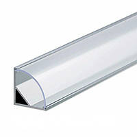 Алюминиевый профиль угловой SL09 для светодиодной Led ленты, комплект