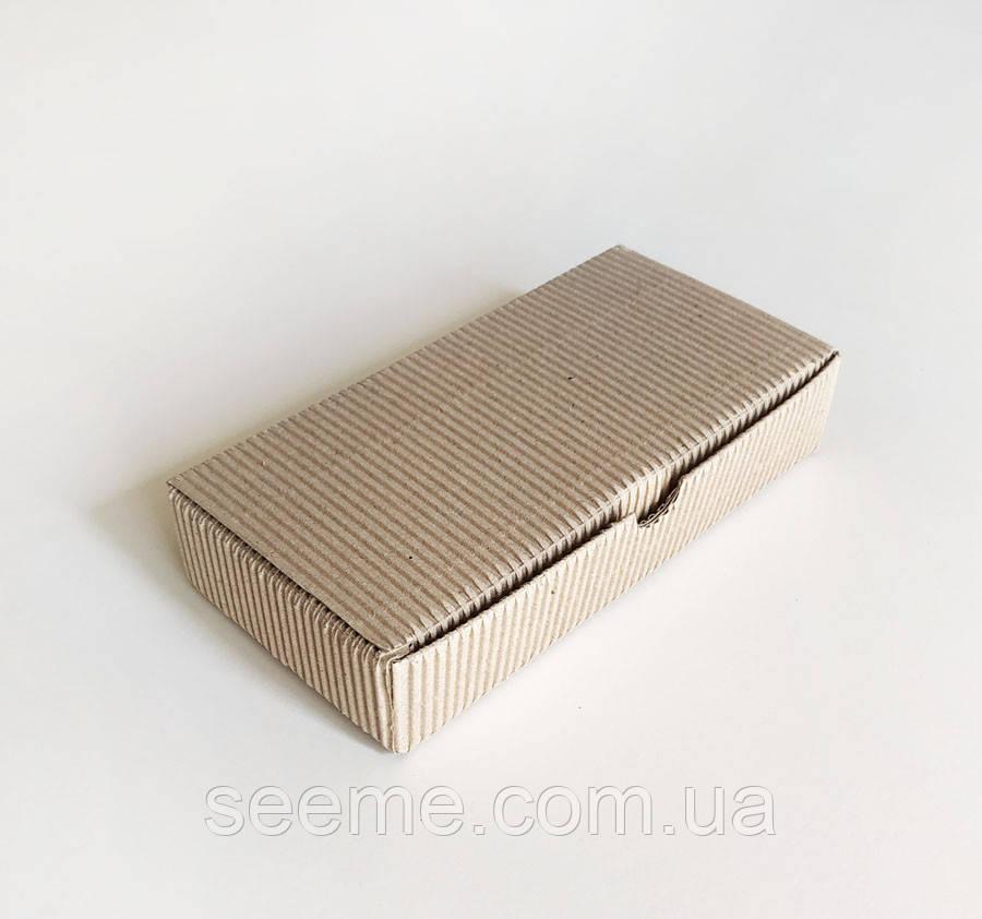 Коробка подарочная из микрогофрокартона, 180х90х35 мм.