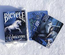 Карти гральні | Bicycle Anne Stokes Unicorns, фото 2