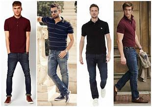 Мужские футболки-поло
