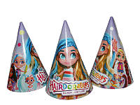 9d2d753cc9b5 Набор Колпачки, колпаки праздничные карнавальные маленькие 16 см (10 шт./уп.