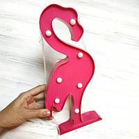 Светильник ночник Фламинго