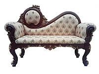Банкетка в прихожую спальню в классическом стиле