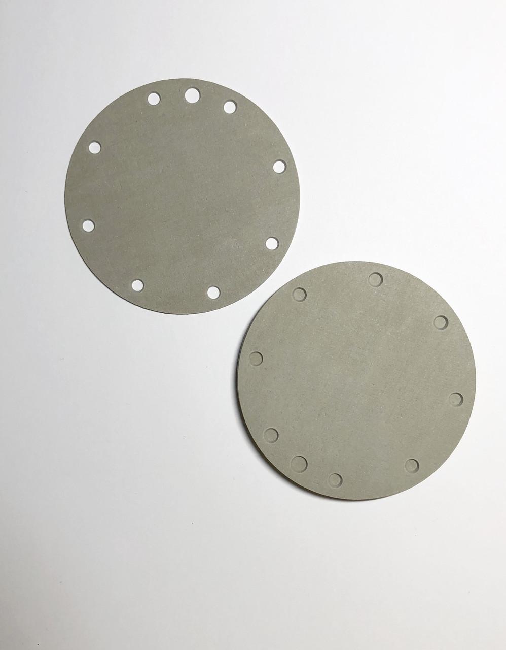 Мембрана водяного регулятора ВПГ белая 1,5 мм