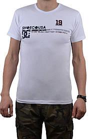 "Футболка мужская ""DC"" 50-52 (AT106/XL/White)   1 шт."