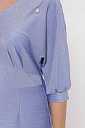 Женское платье Афина голубая фиалка / размер 50,52,54,56 / большие размеры, фото 4