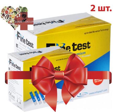 Тест-полоски Finetest premium 50 2 упаковки