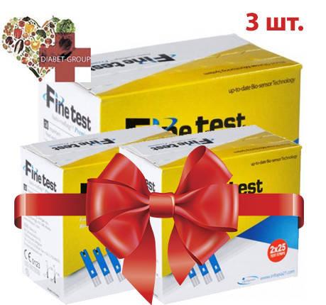 Тест-полоски Finetest premium 50 3 упаковки, фото 2
