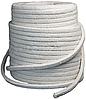 Термошнур керамический плетеный для котла (25мм) квадратный, армированный