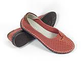Женские мокасины Allshoes 77937-11 CORALL 36 23,5 см, фото 3