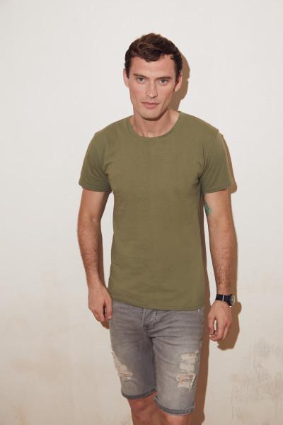 Мужская футболка однотонная хорошего качества