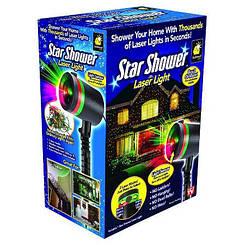 Лазерный уличный звездный проектор дождь на дом