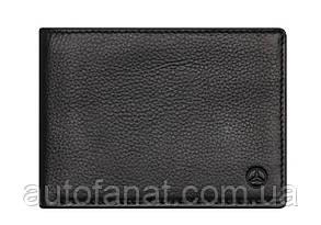 Оригинальный кожаный футляр для кредитных карт Mercedes-Benz Credit Card Wallet, RFID, Black (B66953719)
