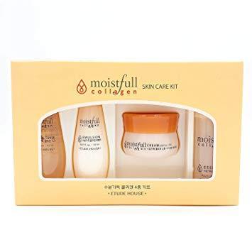 Набор миниатюр Etude House Moistfull Collagen Skin Care Kit