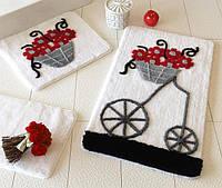 Набор ковриков в ванную комнату Alessia 1001 60х100, 50х60 и 40х60