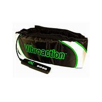 Массажный пояс для похудения Vibroaction Виброэкшн Black