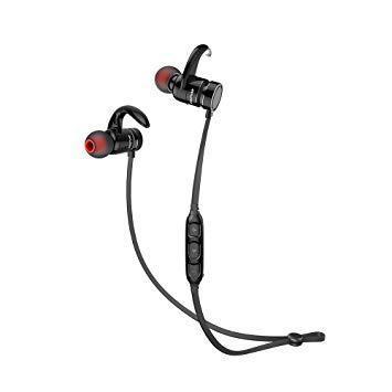 Беспроводные Bluetooth наушники гарнитура Awei AK4 Black