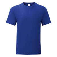 Мужская футболка однотонная хорошего качества Новое, синий-кобальт