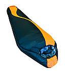 Спальний мішок-кокон SIBERIA 7000 XXL (правий).Спальник кокон. Туристический спальник, фото 4