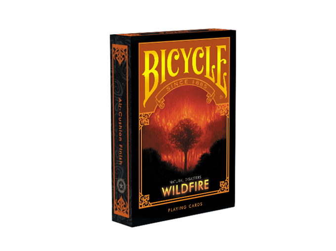Карты игральные | Bicycle Natural Disaster «Wildfire»