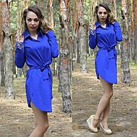 Женское платье рубашка, фото 1