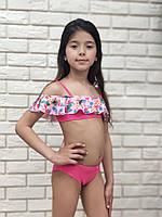 Раздельный детский купальник KEYZI  Flamingo