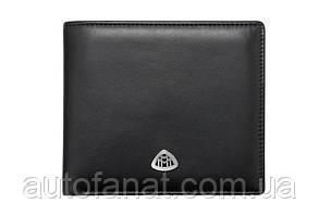 Оригинальный мужской кожаный кошелек Mercedes Men's Wallet, Maybach, Black (B66953330)