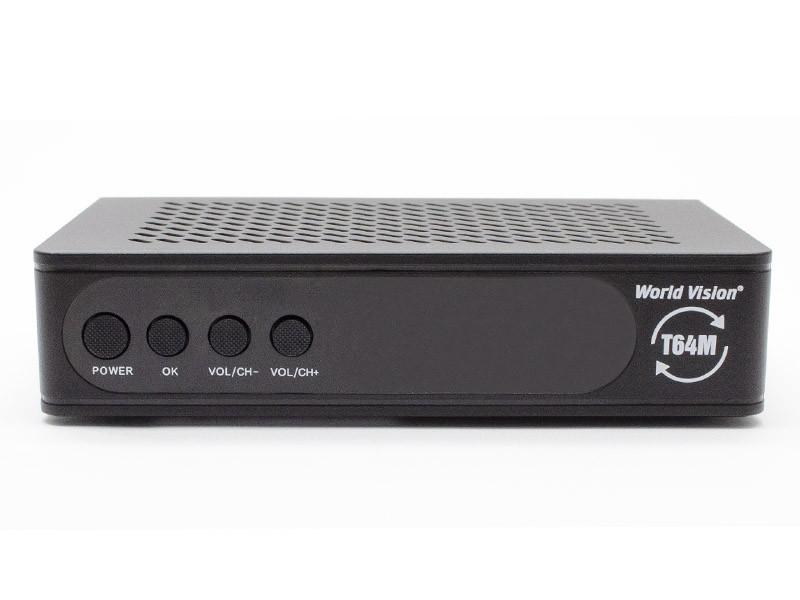 ТВ-ресивер World Vision T64M