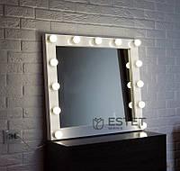 Зеркало с подсветкой ЛАУРА 80х70 см, фото 1