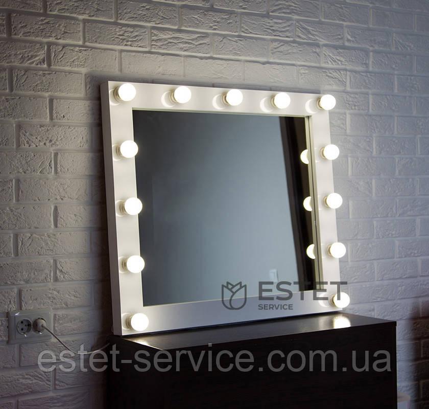 Зеркало с подсветкой ЛАУРА 80х70 см