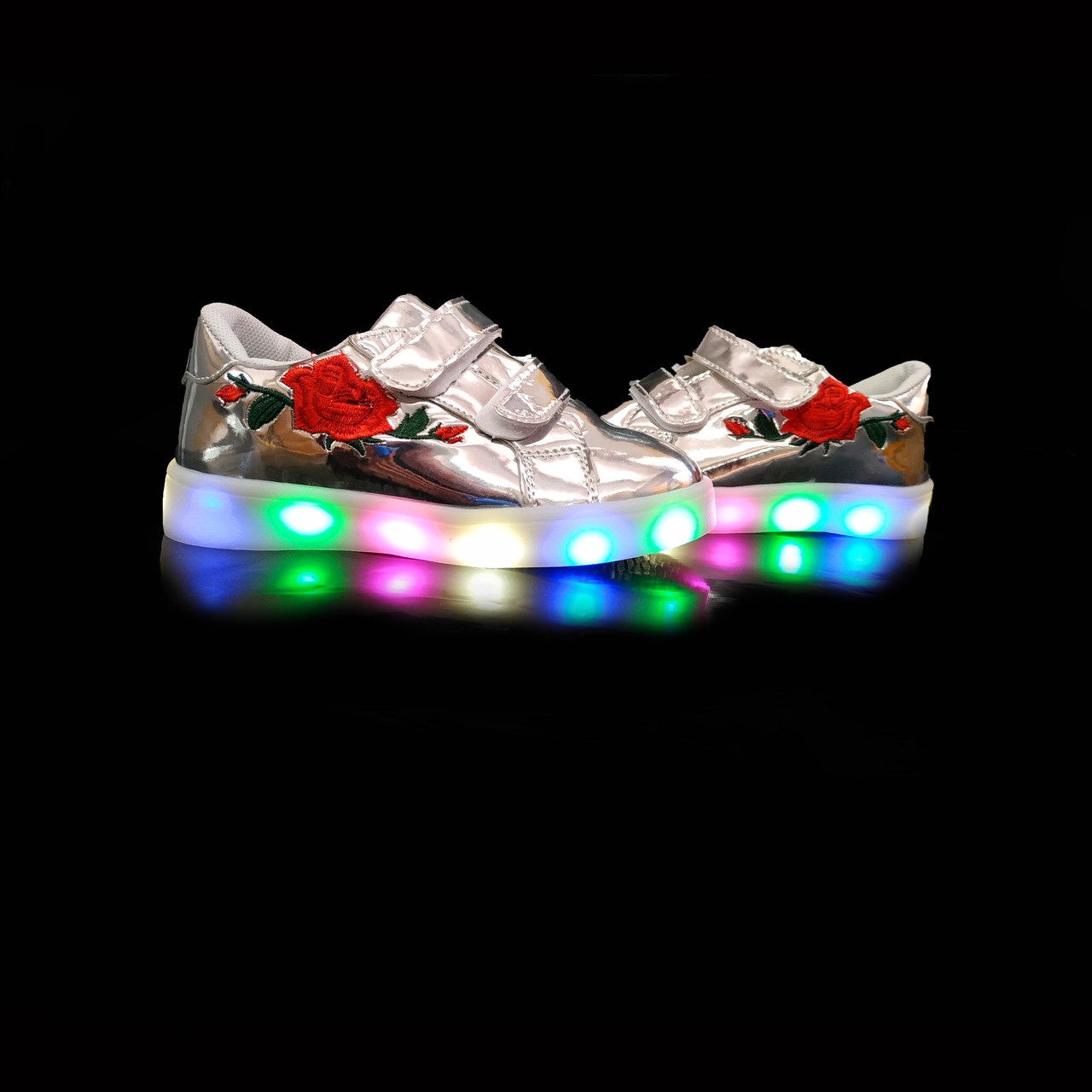 Кросівки з підсвічуванням дитячі Silver A25